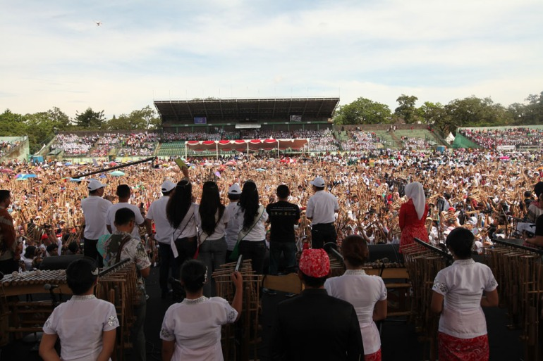 Angklung for the world