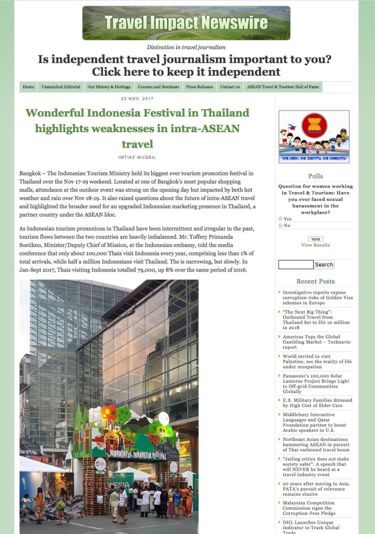 WIF bangkok_travel impact